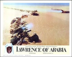 Lawrence of Arabia Peter O'Toole # 1 1962