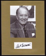 Linkletter Art LATE FUNNYMAN Original Hand Signed 8x10 Display