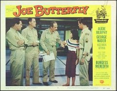 JOE BUTTERFLY Audie Murphy, George Nader 1957 # 2