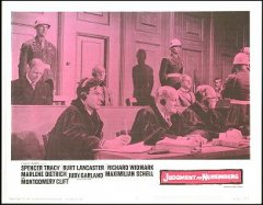 Judgement at Nuremberg Spencer Tracy Marlene Dietrich 1961 # 5