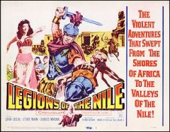 Legions of the Nile Linda Cristal # 1 1960
