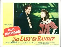 LADY AND THE BANDIT Louis Hayward 1951 # 2 1951