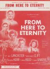 From Here to Eternity Burt Lancaster Frank Sinatra 1953