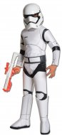 Star Wars Force Awakens Stormtrooper Child Super Deluxe Costume Size S,M,L