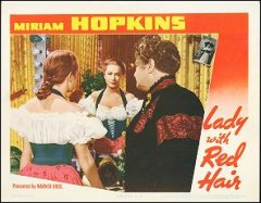 Lady with the Red Hair Miriam Hopkins 1940