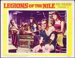 Legions of the Nile Linda Cristal # 5 1960