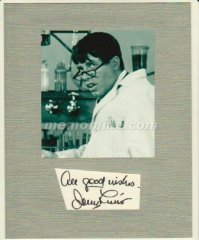 Lewis Jerry NUTTY PROFESSOR Original Hand Signed 8x10 Display