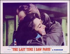 LAST TIME I SAW PARIS Elizabeth Taylor, Van Johnson #2 1954