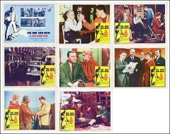 Last Angary Man Paul Muni David Wayne 8 Card set 1959